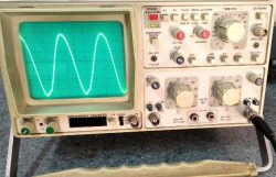 Image of CRO, Cathode Ray Oscilloscope