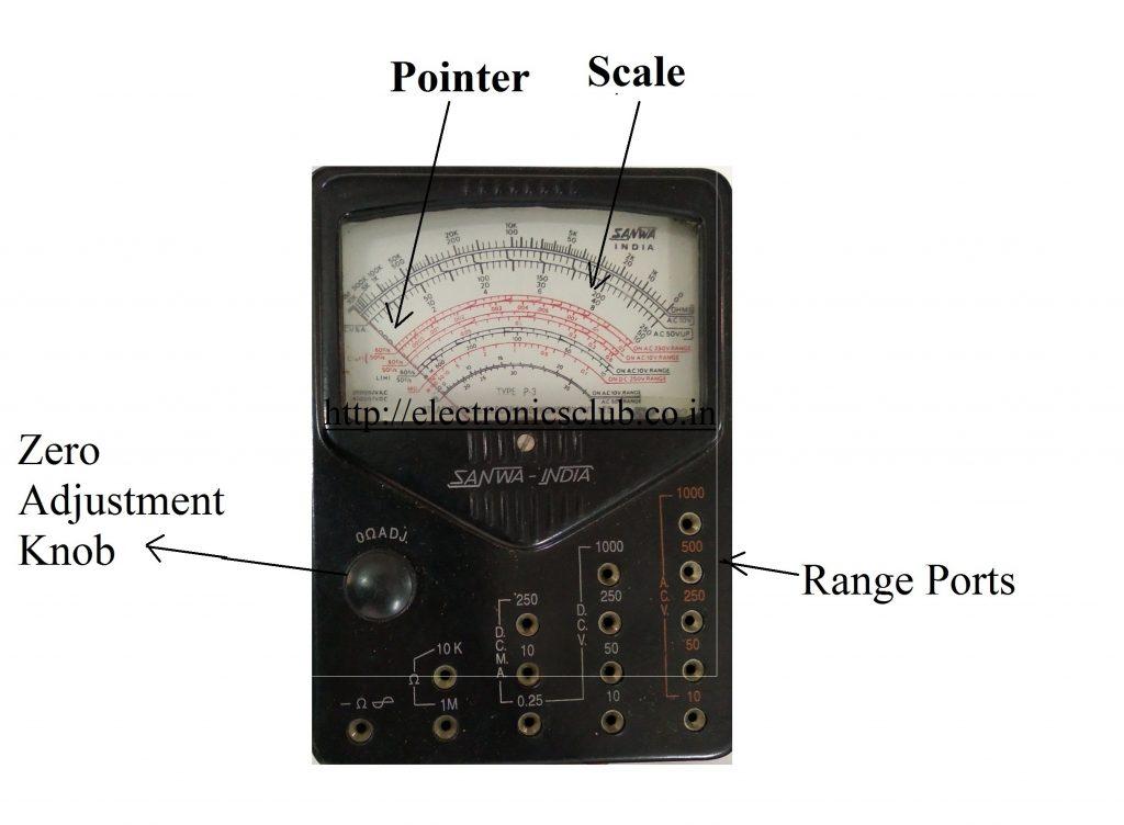 Analog Multimeter, Multimeter, Image of Multimeter