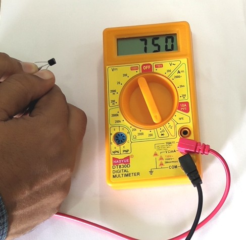 Testing of Transistor, Transistor with DMM, Transistor Testing with multimeter