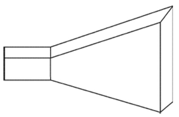 E-Plane Horn Antenna
