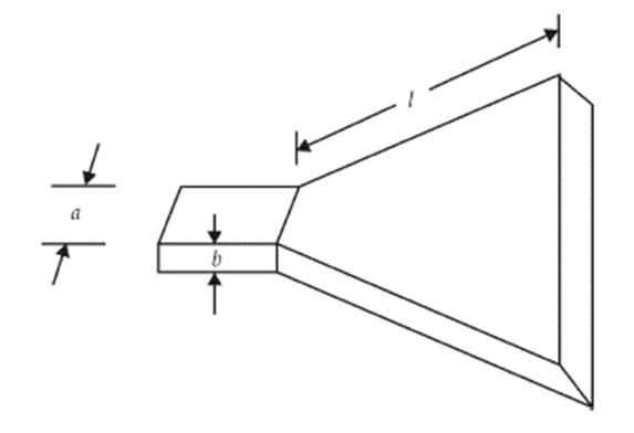 H-Plane Horn Antenna