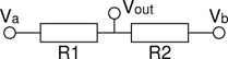 Generalised voltage divider