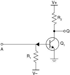 RTL NOT gate, Resistor-Transistor Logic (RTL)