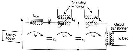 Two-stage Saturable Reactor Modulator, or Pulsactor