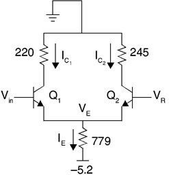 Emitter-coupled pair, Emitter-Coupled Logic (ECL)