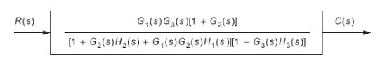 Simplified block diagram, Block Diagram Reduction Technique